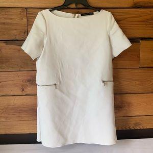 White Zara Mini Dress